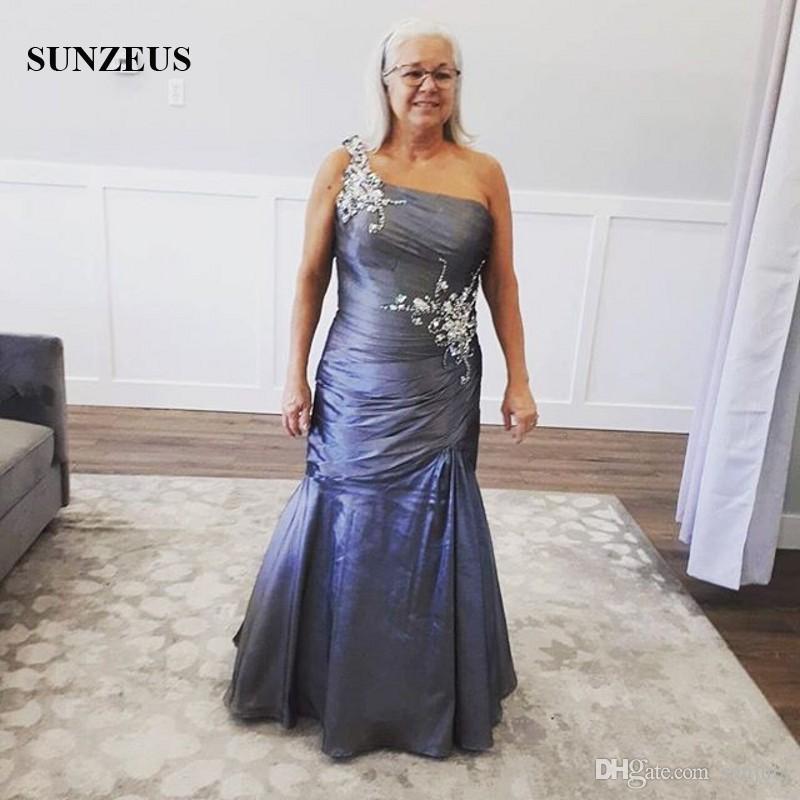 Mermaid One Shoulder Dress