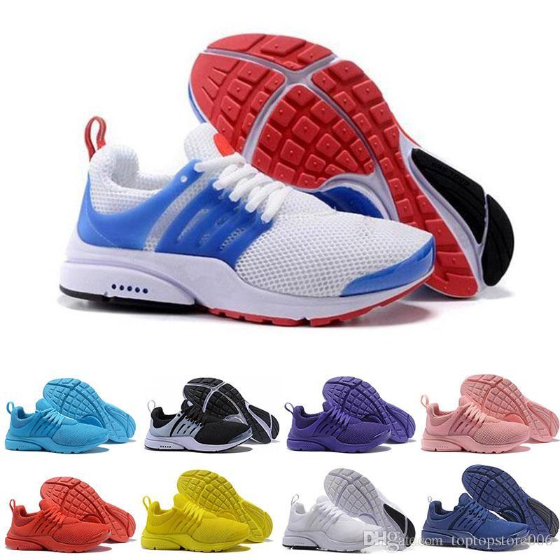 4d3e7df2f5ae6b Acquista Nike Air Presto 5 Migliori Scarpe Da Jogging PRESTO 5 BR QS Uomo  Donna Oreo Giallo Viola Scarpe Da Corsa Rosa Balconcino Designer Walking  Sneakers ...