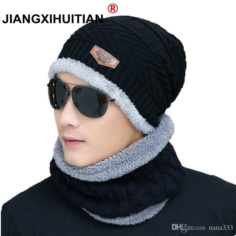 a2c9169a 2019 Hot Winter Hats Skullies Beanies Hat Winter Beanies For Men Women Wool  Scarf Caps Balaclava Mask Gorras Bonnet Knitted Hat