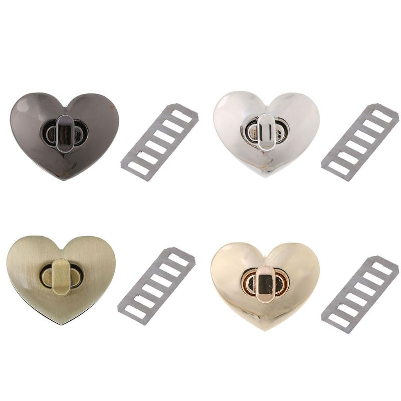 Bag Parts & Accessories High Quality Metal Magnetic Clasp Turn Lock Twist Locks Metal Hardware For Diy Handbag Bag Purse