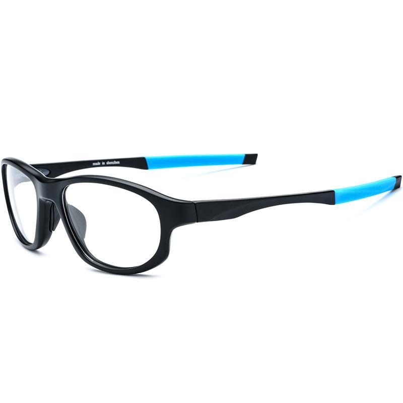 2040f1d44 Compre Cubojue TR90 Esportes Óculos De Armação Dos Homens Anti Escorregar Óculos  Óculos De Prescrição Óptica Do Homem Limpar Lens Grau Eyewear De Condução  ...