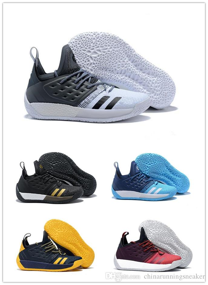 Brand New Harden 2 Vol.2 Men S Basketball Shoes Wolf Grey Sports BasketBall  Sneakers Training Shoes Size 40 45 Latest Shoes Shoes Brands From ... 8b06d1966