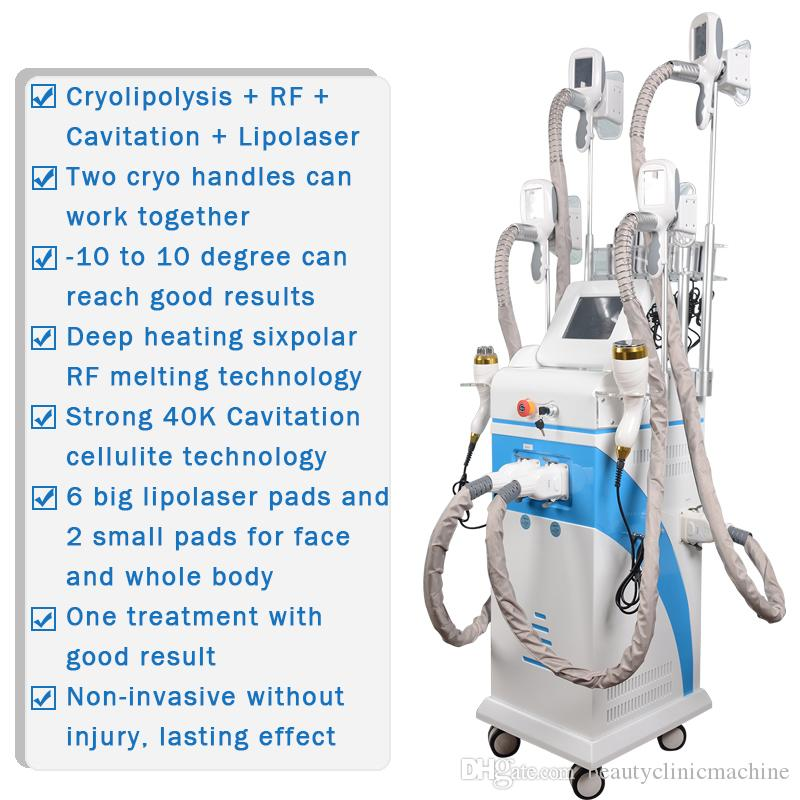 best cryolipolysis machine weight loss fat freezing cryolipolysis slimming machine Lipo Cold ultrasonic cavitation rf lipo laser