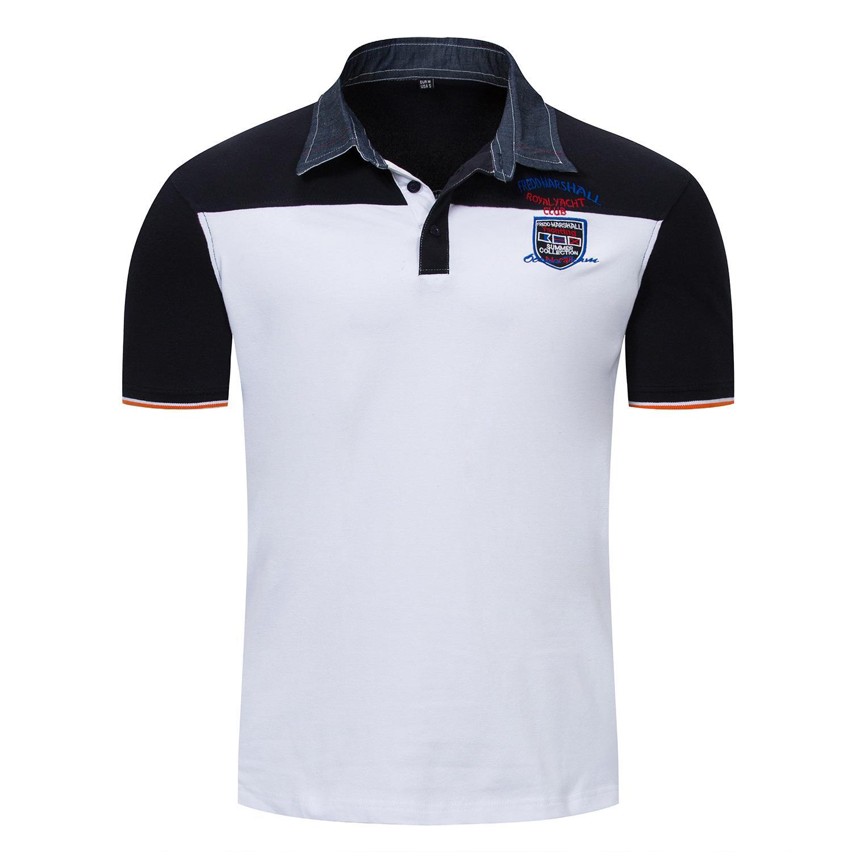 Fashion Mens Polo Shirts Summer Designer T Shirts Short Sleeve