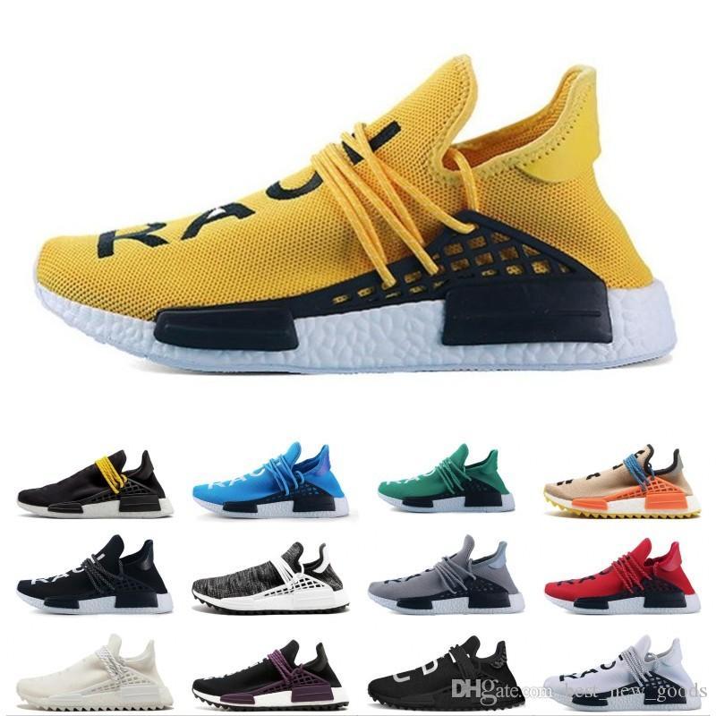 new product a80c7 040bc NMD Human Race Pharrell Williams X HU nero passione INDIA donna uomo Scarpe  da corsa sportive, sconto Scarpe sportive da uomo economiche taglia 36-47  ...