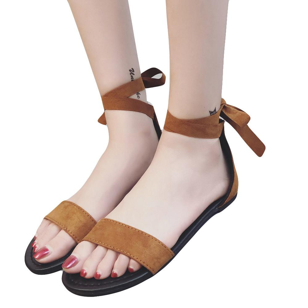 1d547c5400a Platform Shoes Women 2018 Sandal Women Flat Shoes Bead Bohemia Leisure Lady  Sandals Peep Toe Outdoor  g6 Gladiator Sandals Wedding Shoes From Clownie