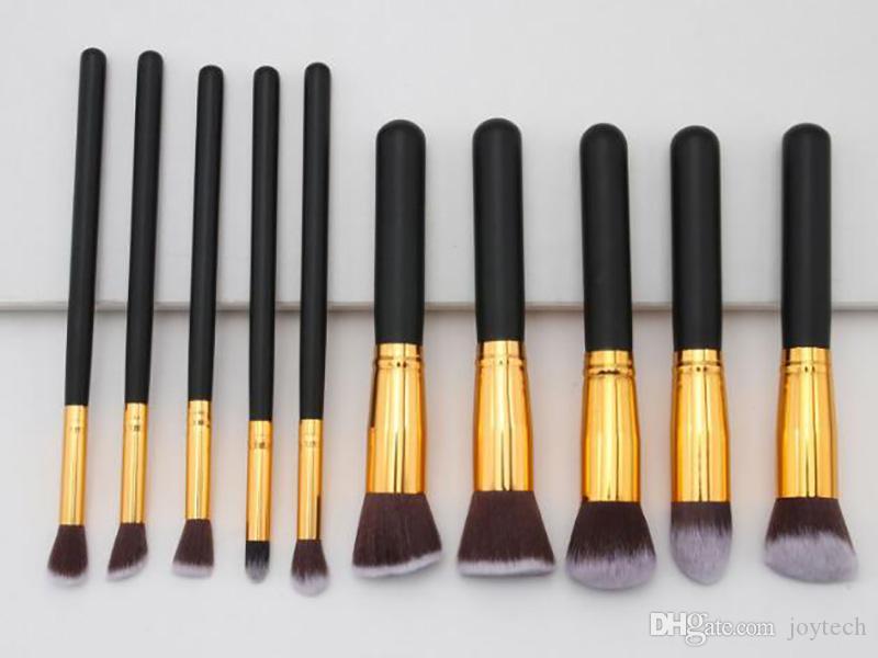 Maquillage Brosse Ensembles Outils Fondation de brosse Cosmétique Fauche Eye-liner Poudre de maquillage poudre à lèvres