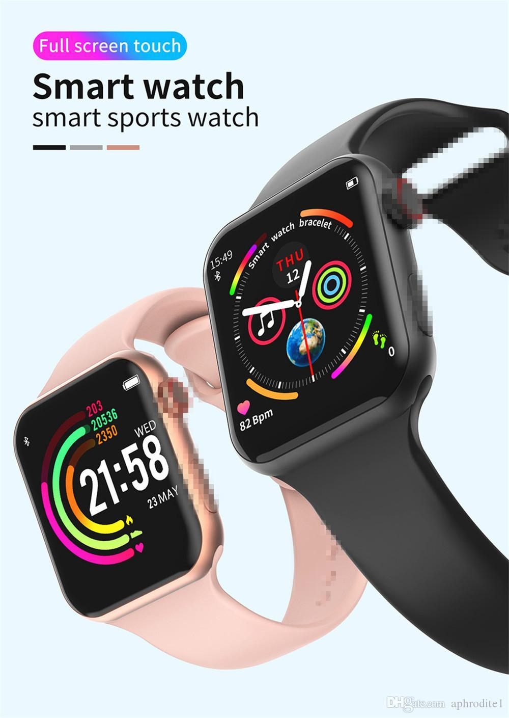 2020 Hot Bluetooth Smart Watch Fitness Tracker Smartwatch for Apple and Android phone with good quality battery waterproof sports smartwatch