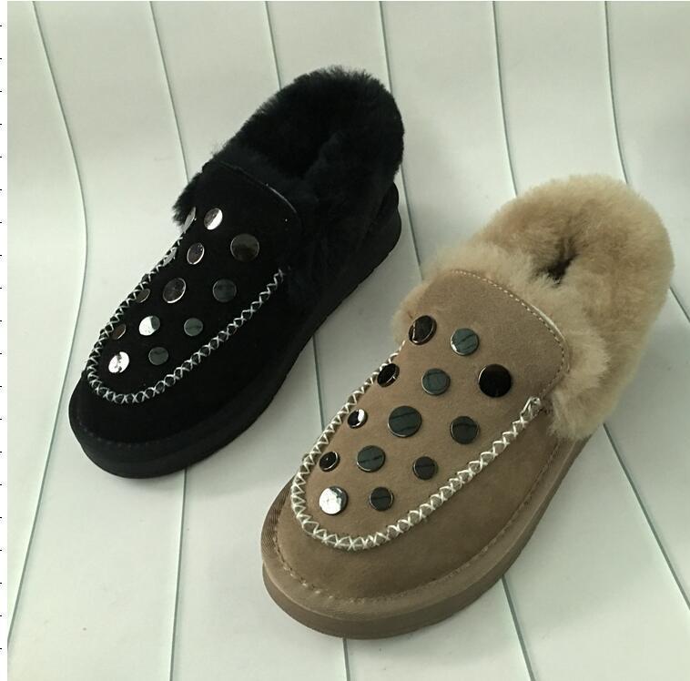 1fc549f8b3efb 2018 Winter New Warm Pregnant Women Flat Bottom Plus Velvet Wear Cotton Shoes  Women Moon Boots Red Shoes From Purpurpur, $75.84| DHgate.Com