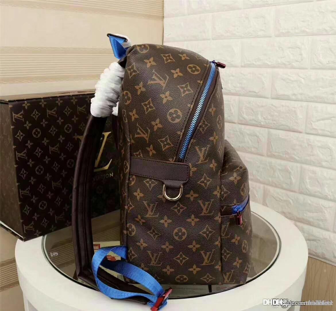 57d9e2339f6f LOUIS VUITTON Supreme Women DICOVERY Backpack 100% Real Leather Travel Bags  MICHAEv88 KOR houlder Bags For Men Women Tote atchel Clutch ac L I MK AJ  GUCCI ...