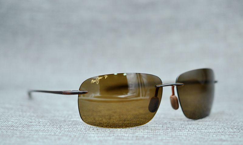 297c820f3a3 Brand NEW Authentic Polarized MAUI JIM BREAKWALL Sunglasses Black Frame 422-02  MAUI JIM MAUI JIM 442 Sunglasses 442 Online with $35.93/Piece on Cchfh68's  ...