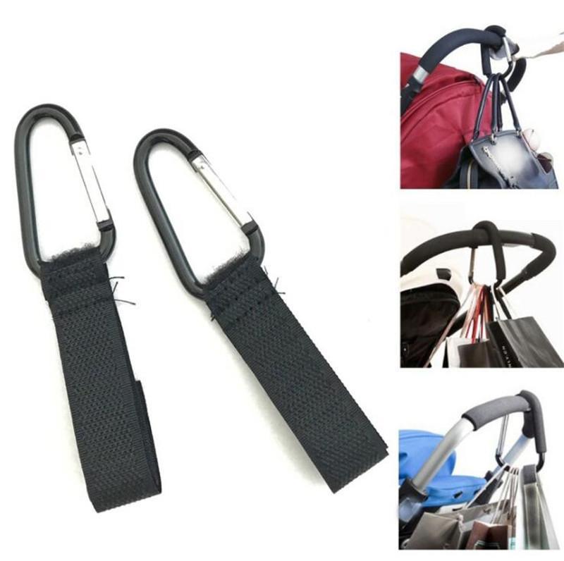 Stroller Hooks Wheelchair Pram Carriage Bag Hanger Hook Baby Strollers Clip