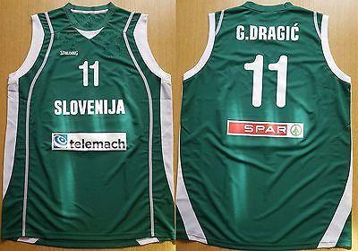11 Goran Dragic Slovenia EuroBasket 2011 Trikot Camiseta Basketball Jersey  Retro College Customize Any Number Name XXS 6XL Vest Jerseys UK 2019 From  ... 84d736002