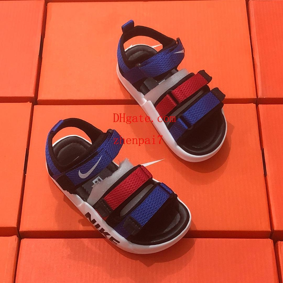 New kids shoes girl boys Beach shoes Roman style trainers chaussures enfants Sandals Girls Sandal baby shoes d-g8