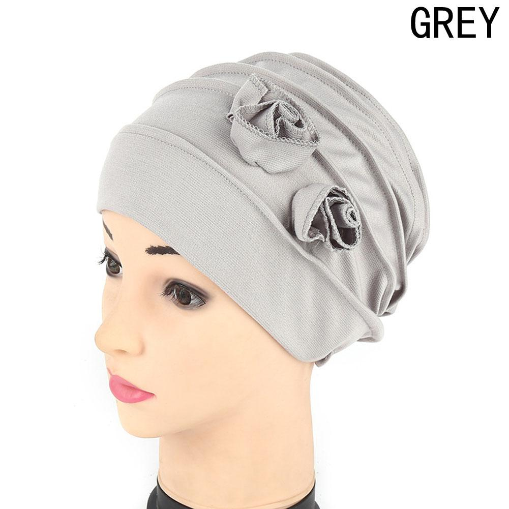 Womens Cotton Cap Floral Lace Lady Turban Hat Spring Summer Womens