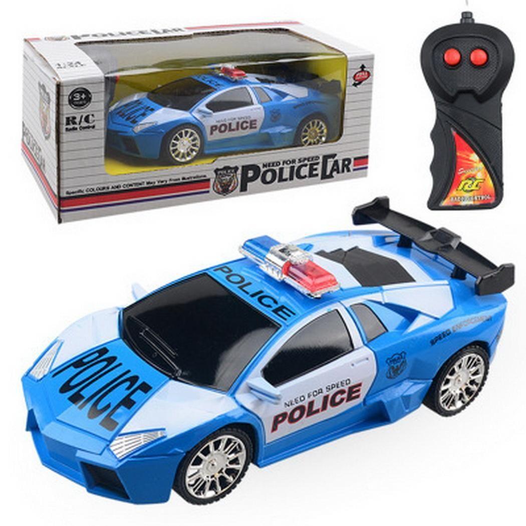 Fun Model Electric Remote Control Police Casual Car Toys Children 2