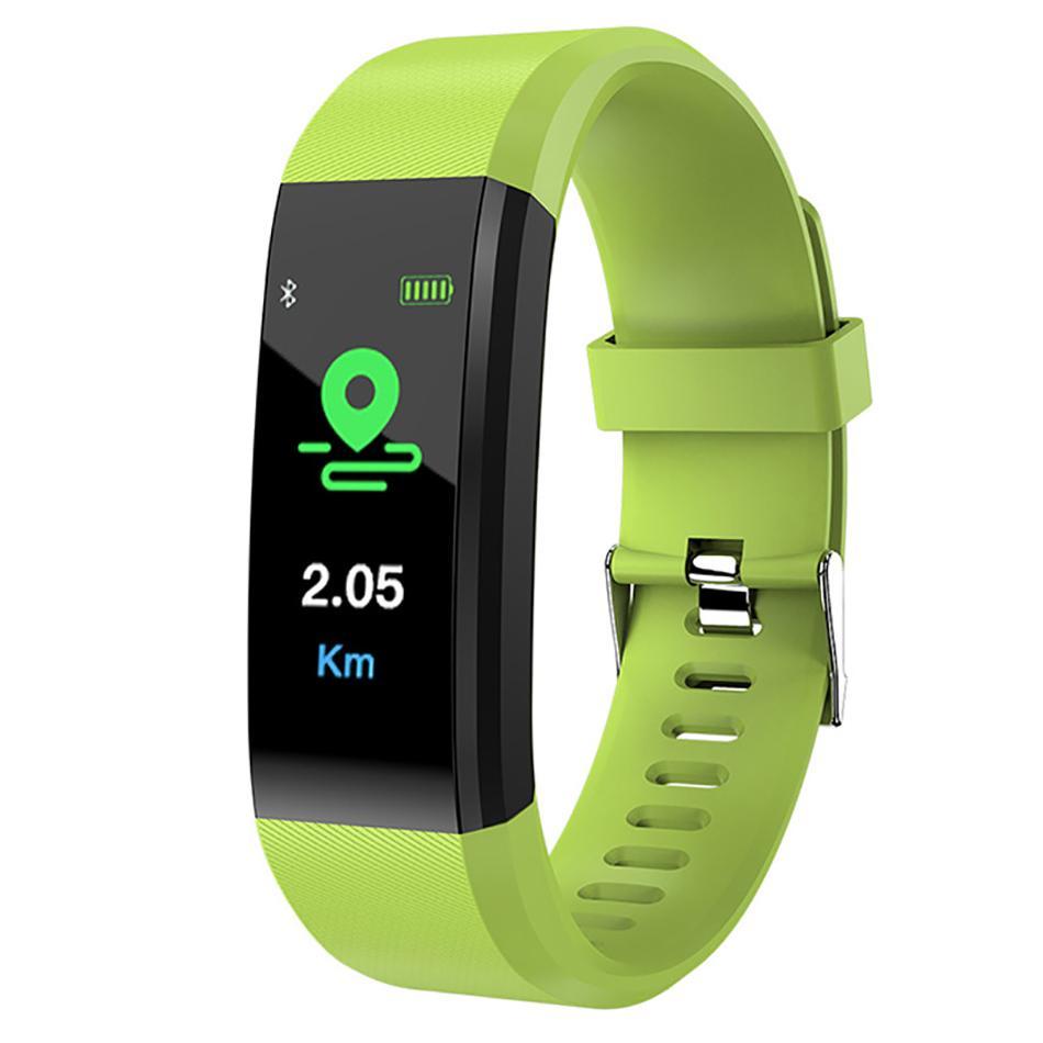ec794f76afce Compre Nuevo Reloj Inteligente Hombres Mujeres Monitor De Ritmo Cardíaco  Presión Arterial Gimnasio Rastreador Reloj Deportivo Smartwatch Para Ios  Android ...