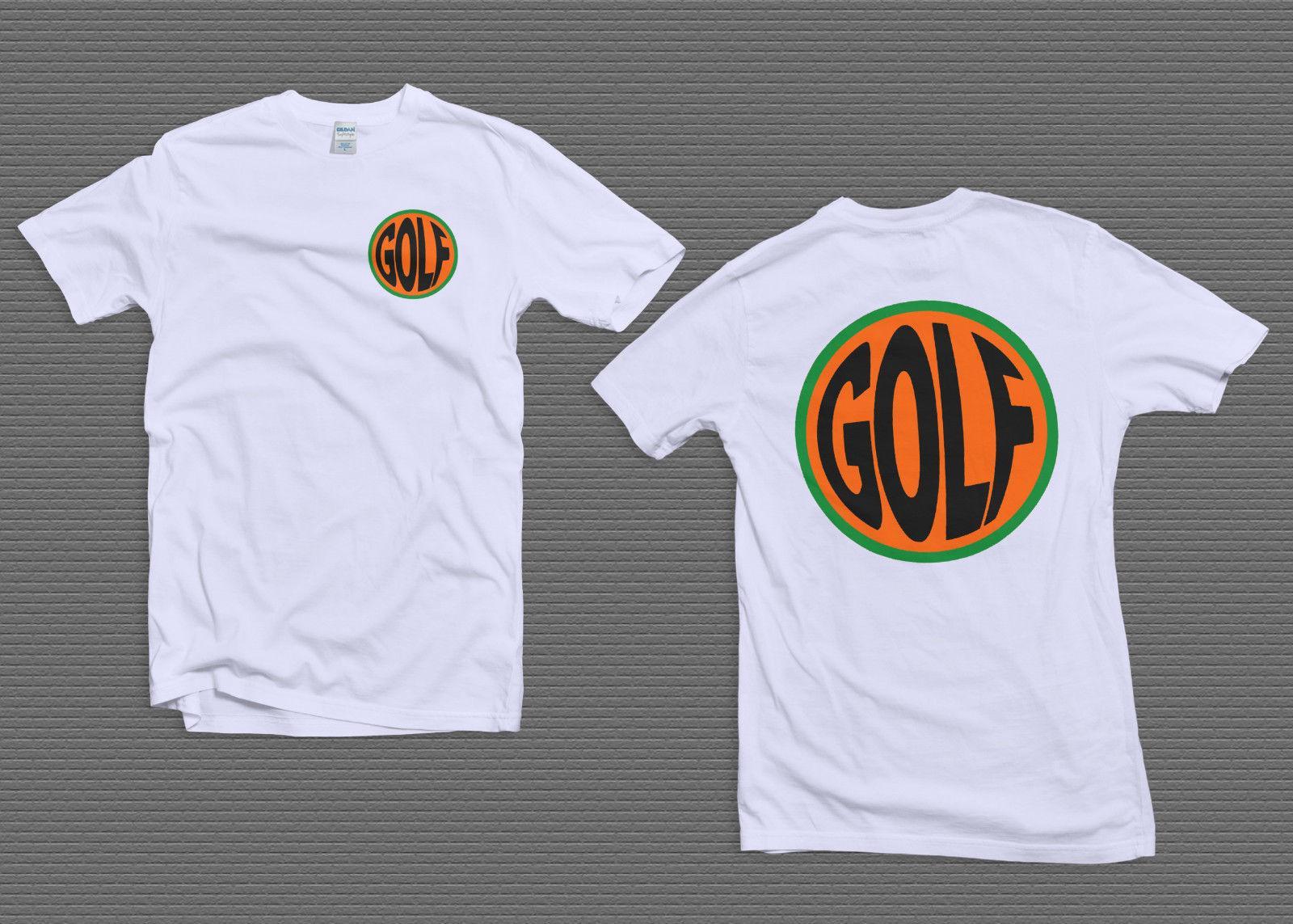 aacce1d91fa7e2 TOP Golf Wang Fish Eye Tee Shirt Tyler The Creator White Size S 2XL Men  Women Unisex Fashion Tshirt Funny T Shirt Prints Funky T Shirt Designs From  ...