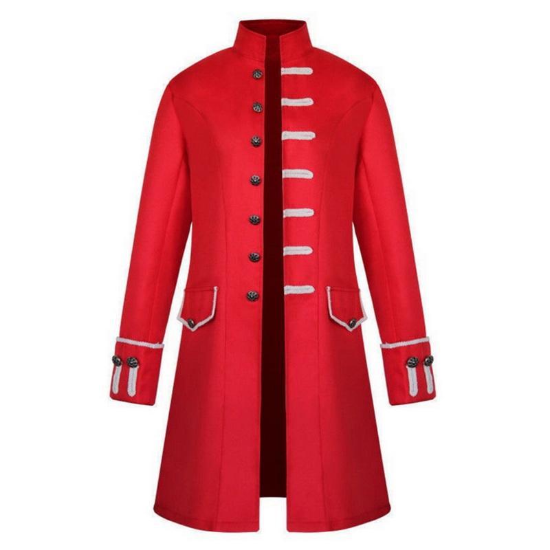 Herren Mantel Heißer Verkauf Steampunk Vintage Jacke Gothic