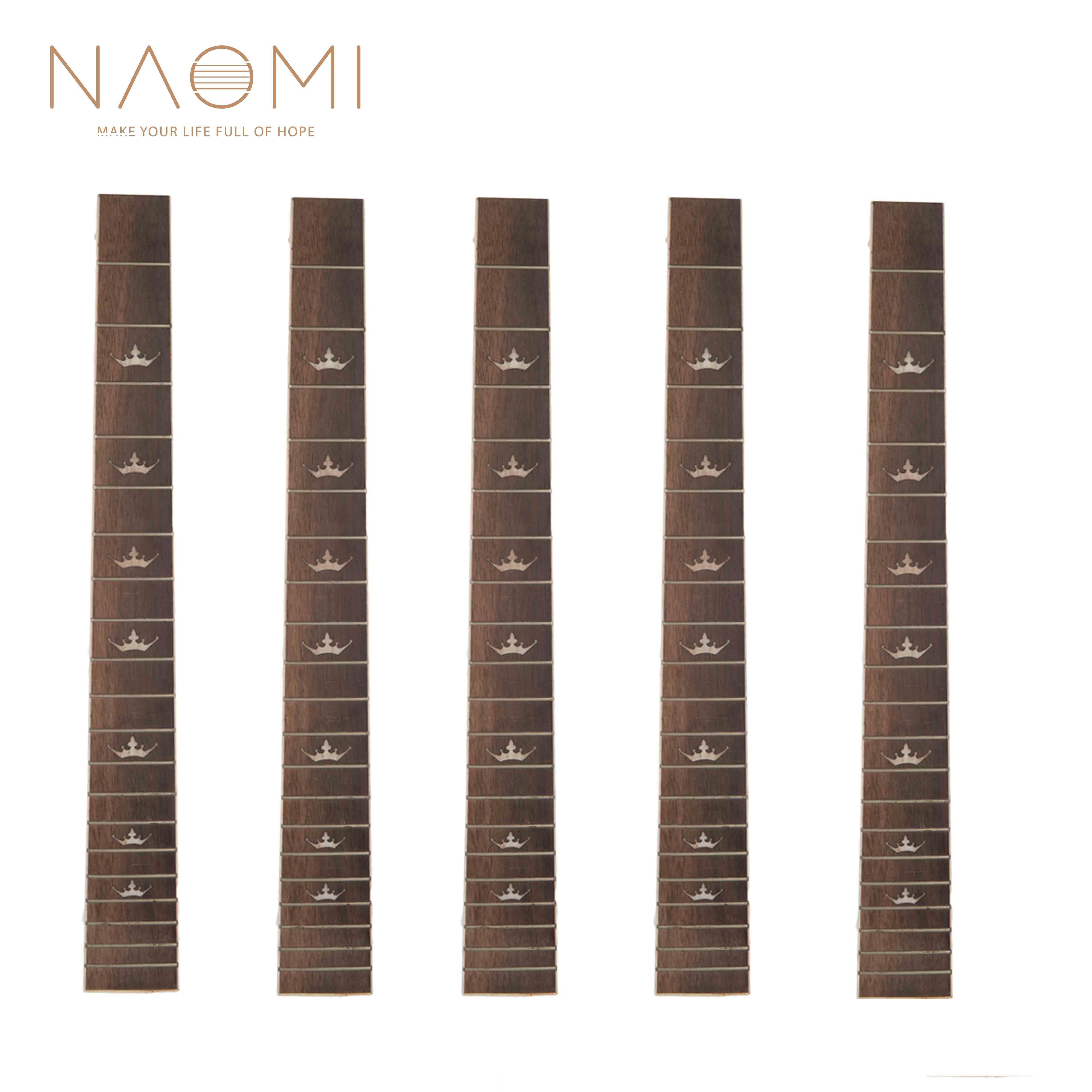 Guitar Parts & Accessories Rosewood Guitar Fingerboard Fretboard W/ Dots Guitar Parts Accessory