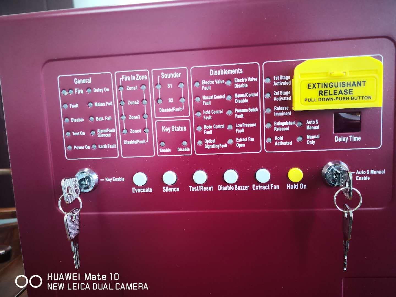 31064cfa6cc Compre Panel De Control De Alarma Experto En Detectores De Petróleo Y Gas  FM200 Seguridad Contra Incendios Sistema Contra Incendios Con Extintor De  ...