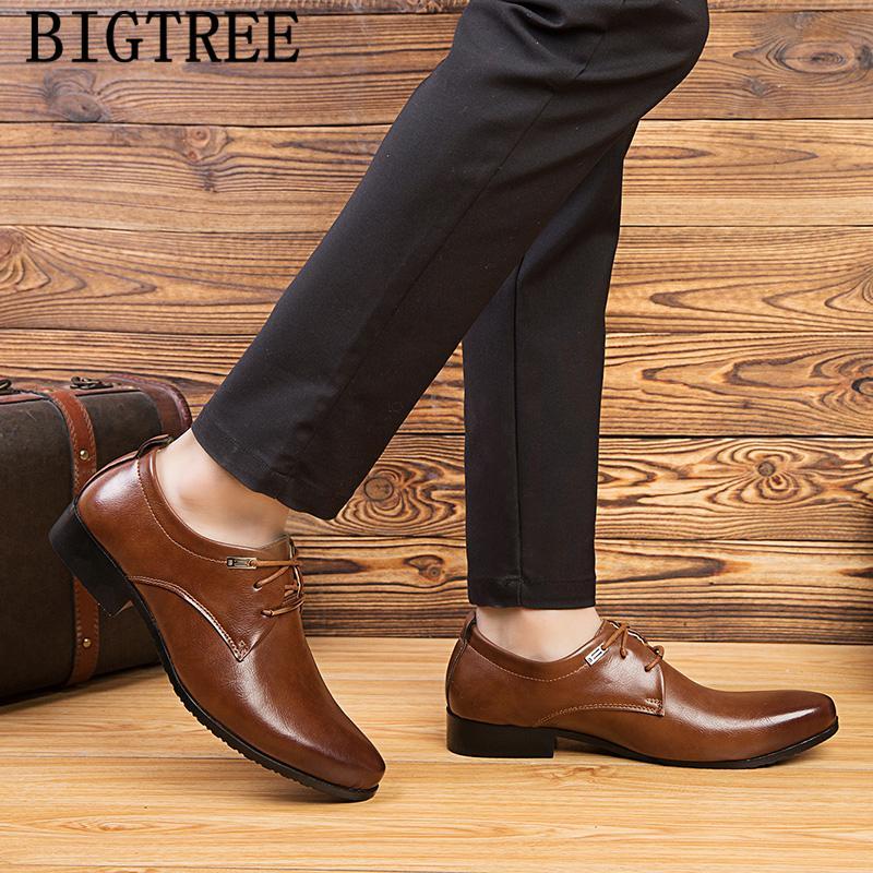 best loved e4fa5 c3b8a 2019 klassische schuhe herren business schuhe leder luxus kleid herren  nette schoenen sapato social chaussure mariage homme