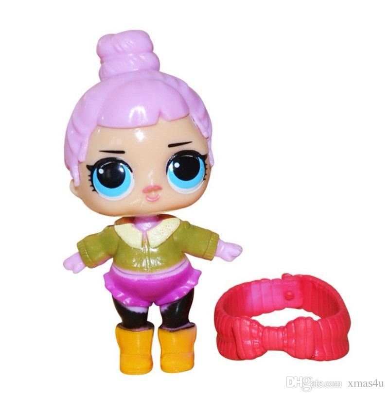 LoL Пластиковые куклы игрушки Американская Kawaii мультфильм Фигурки Реалистичная Reborn куклы для детей 8шт / Много 8-9cm xmas4u Детские игрушки