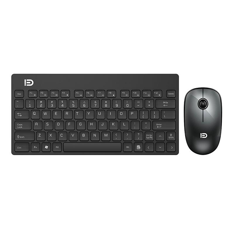 FD 2 4GHz Silent Wireless Technology Mini Portable Wireless Keyboard and  Mouse Set