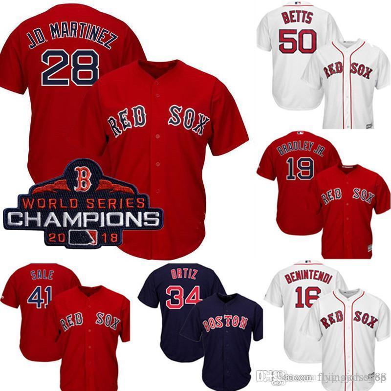 pretty nice db343 6b817 Boston Top Red Sox JD Martinez Jersey Men's Majestic Scarlet Cool Base  Player Jersey Embroidery Baseball Jerseys M-XXXL