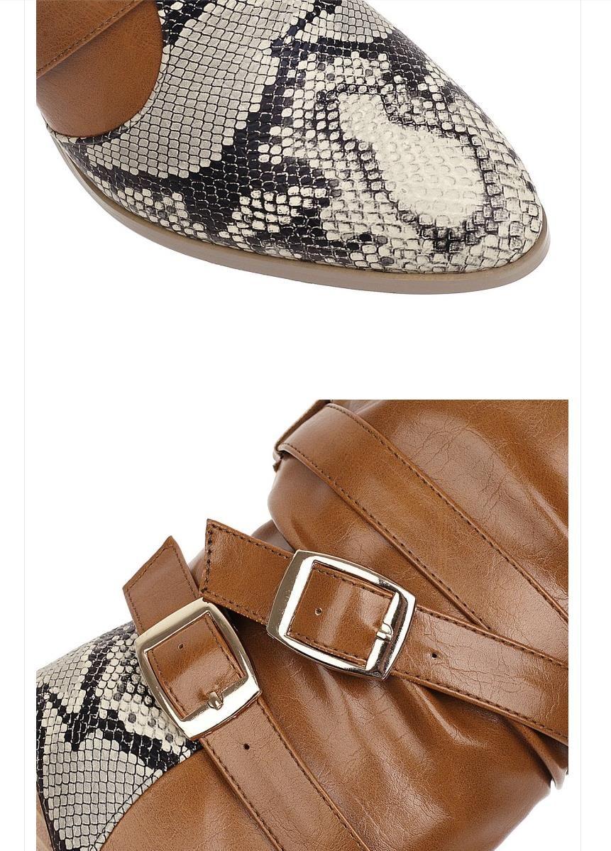 Мода западной ковбойские сапоги змеиные принты кожаные высокие колено высокие сапоги роскошь дизайнер женщин осень зима обувь Размер 34 42 Для 47