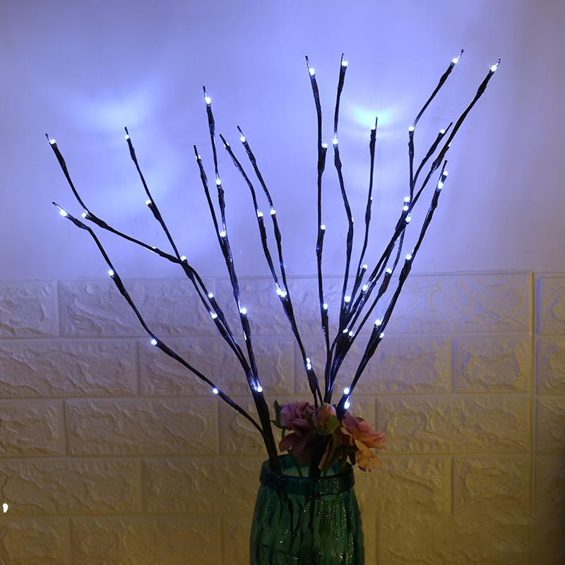 LED Willow Branch Lamp Floral Lights 20 Bulbs Home Christmas Party Garden Decor Christmas Birthday Gift gifts Home Decoration