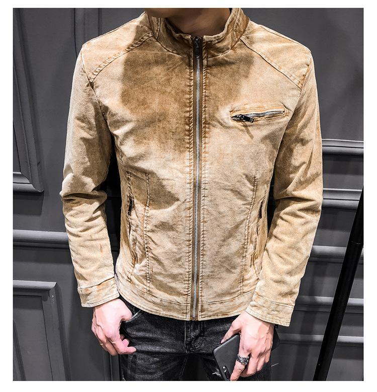 Acquista Giacche Di Jeans Da Uomo Di Alta Qualità 2019 Giacche Di Jeans Da  Cowboy Di Moda Slim Fit Casual Streetwear Vintage Hip Hop Uomo  Abbigliamento Da ... 25a5e7fa7d9