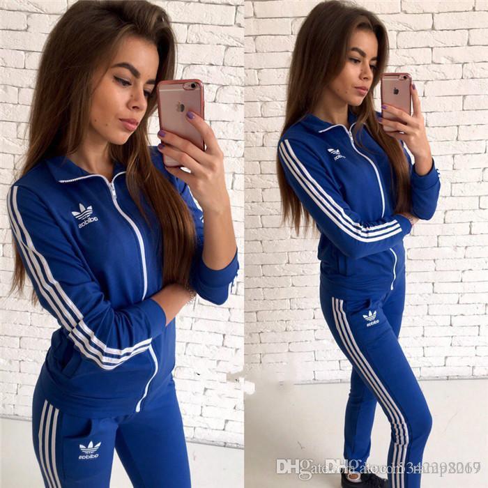c3b4ac7d8a Designer Tracksuit women Luxury Sweat Suits Autumn Brand womens Tracksuits  Jogger Suits Jacket Pants Sets Sporting Suit Print men cotton
