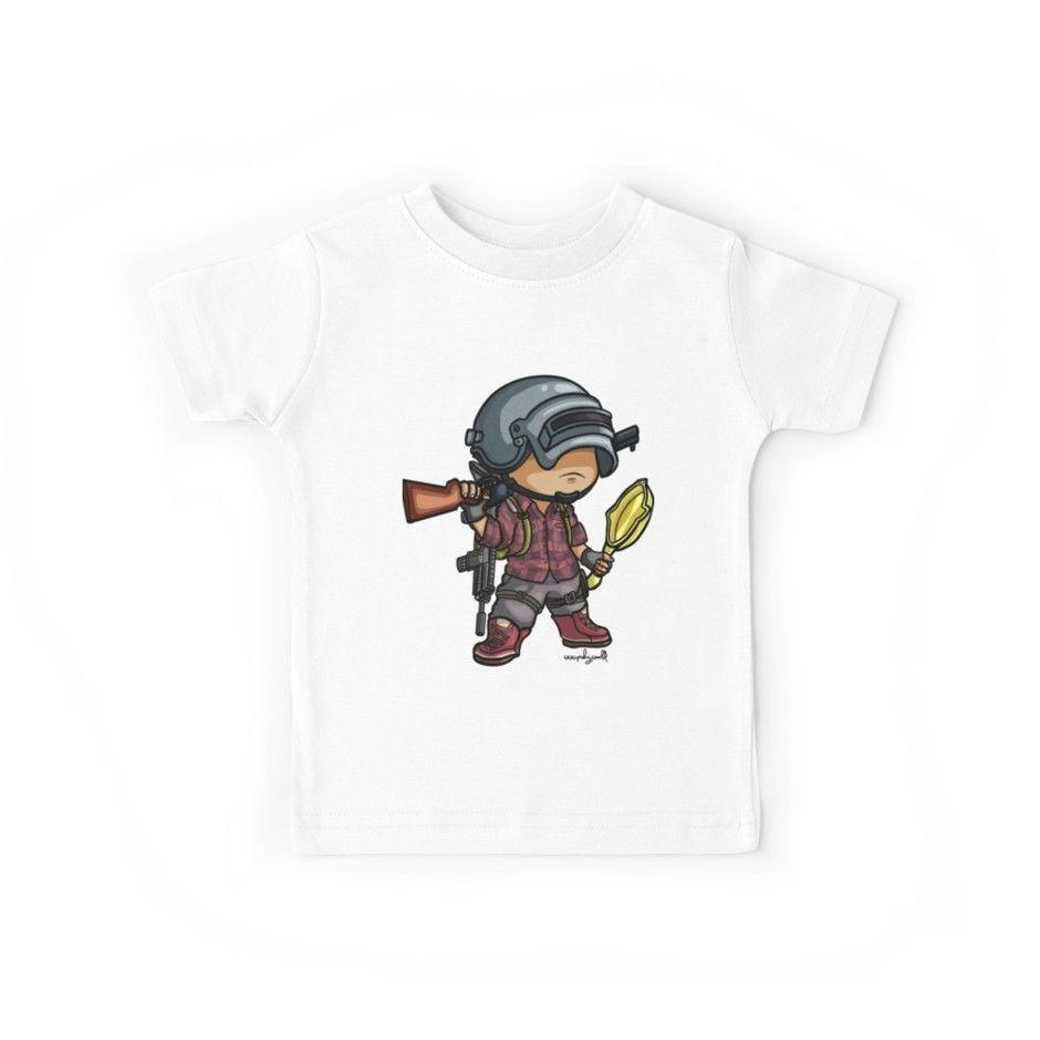 365c9833 New PUBG Chibi Style KIDs Youth T Shirt Size XS XL Custom T Shirt ...