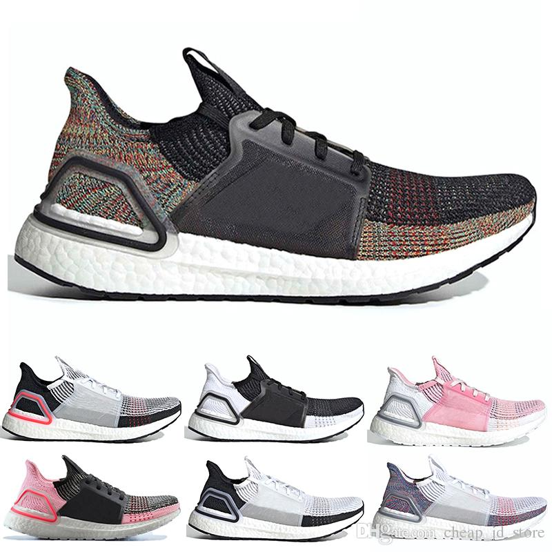 a2e4f95fc 2019 Ultraboost Men Running Shoes Oreo Ultra Ub 19 REFRACT Dark Pixel Clear  Brown Women Sneakers Trainers Designer Shoes Size Us 5 12 Barefoot Running  Shoes ...