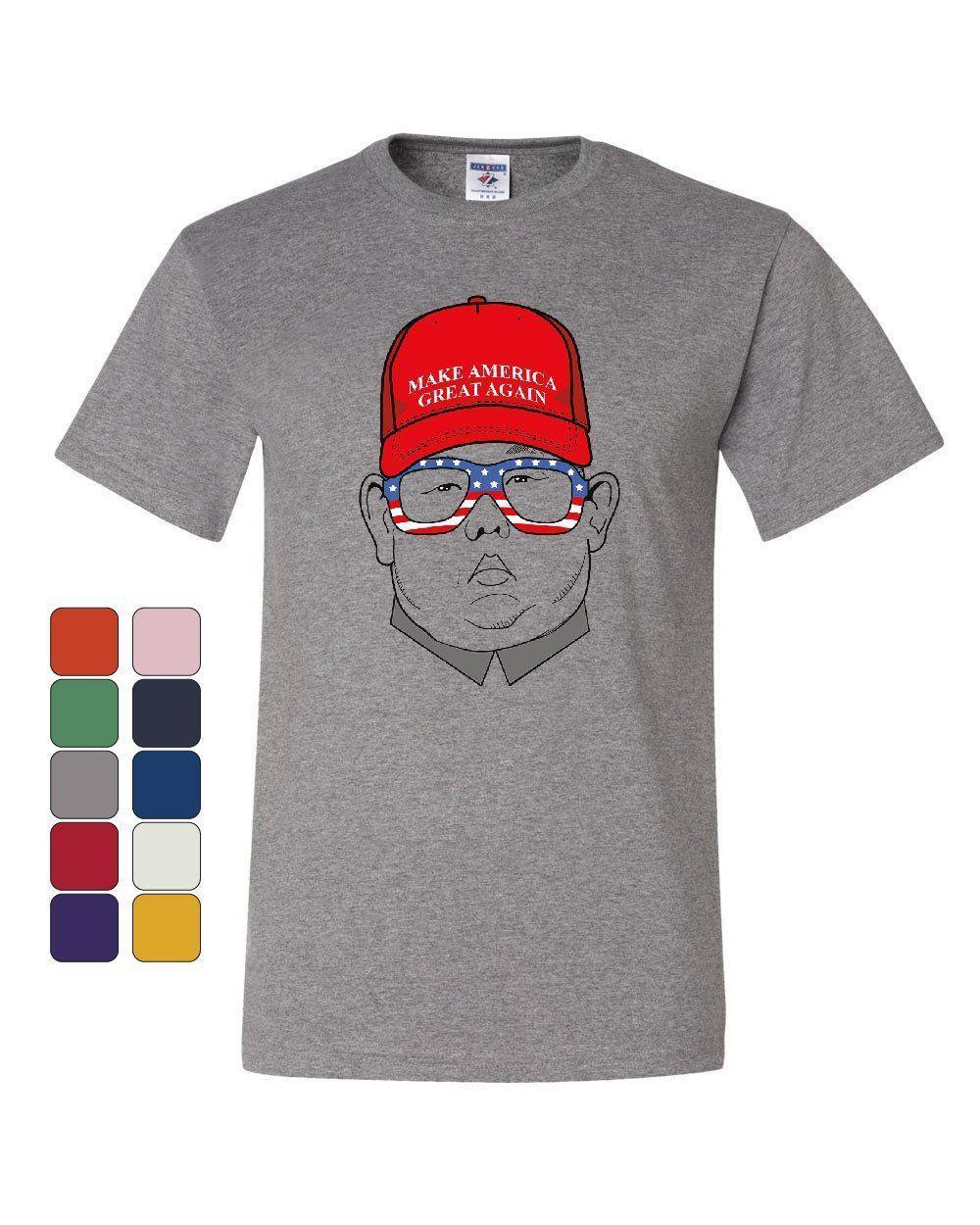 2ff589d7d MAGA Hat Kim Jong Un T Shirt Funny North Korea USA Donald Trump Tee Shirt  Harajuku Summer 2018 Tshirt Funny Ts T Shirts Buy From Lookcup, $16.24|  DHgate.Com