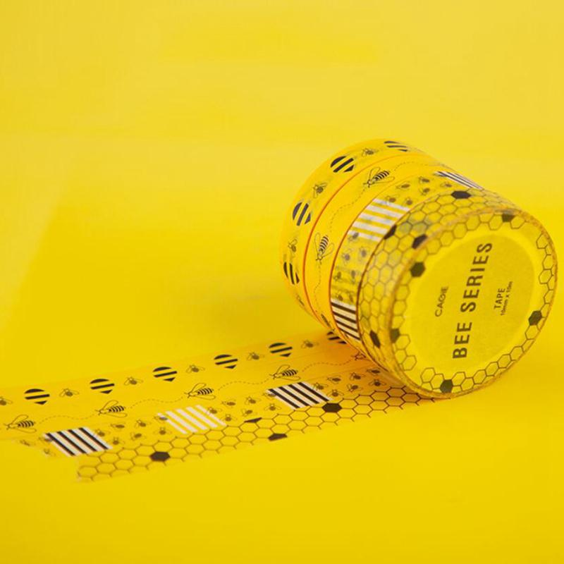Functional Tag Washi Paper Masking Tapes Adhesives Stickers DIY Scrapbook Decor
