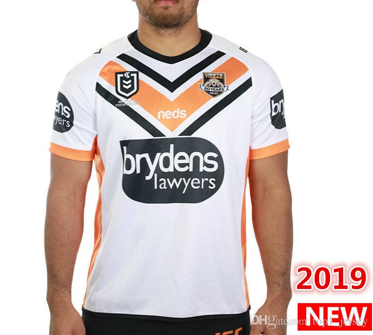 8afce91f6bb 2019 Hot Sales Best Quality 2019 2020 WESTS TIGERS Home Away JERSEY Rugby  Jerseys NRL National Rugby League Nrl Jersey Wests Tigers Shirt S 3xl From  ...