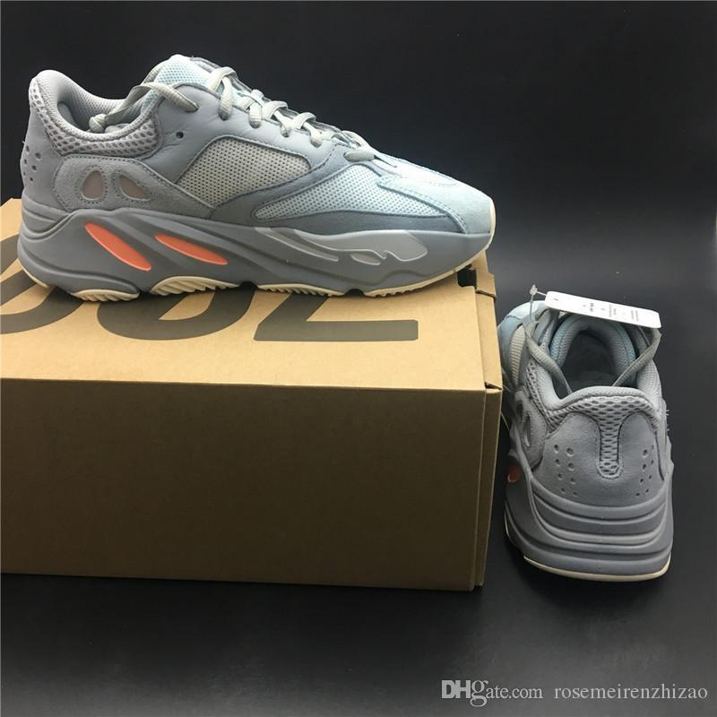 e29eabdca 2019 2019 Authentic 700 Inertia Wave Runner Kanye West Designer Running  Shoes Blue Gray Mens Women Outdoor Sneakers APE779001 With Original Box From  ...