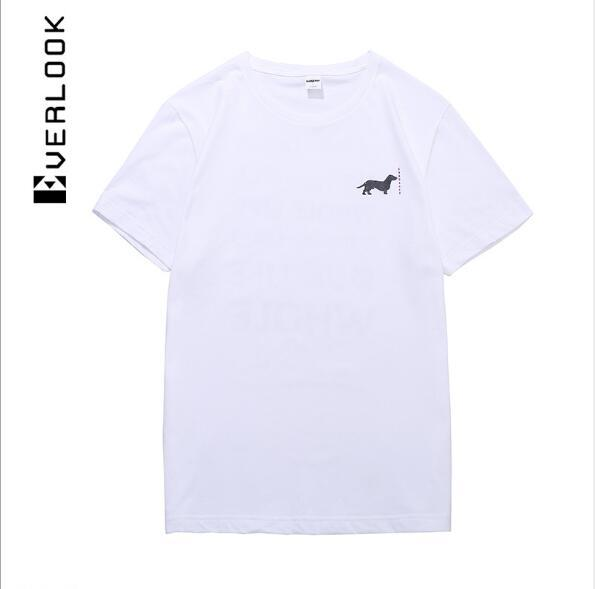 Men's clothing | Europe and the United States street fashion brand cotton short-sleeved T-shirt men's letters English printing round neck sh