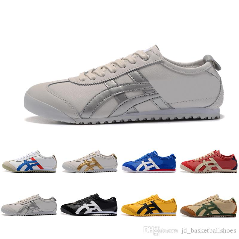 online store f0d60 2e44c Top Fashion Onitsuka Tiger Running Shoes For Men Women Athletic Outdoor  Boots Brand Sports Mens Trainers Sneakers Designer Shoe Size 36-44