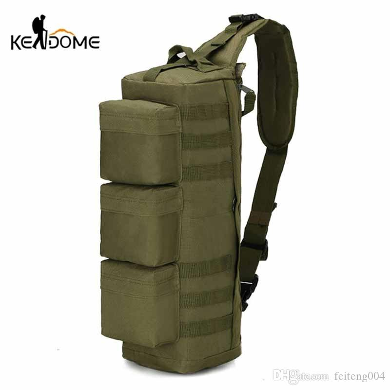 Climbing Bags Army Military Hunting Camouflage Single Shoulder Cross Body Pack Outdoor Hiking Camping Tactical Bags For Men Women Camping & Hiking