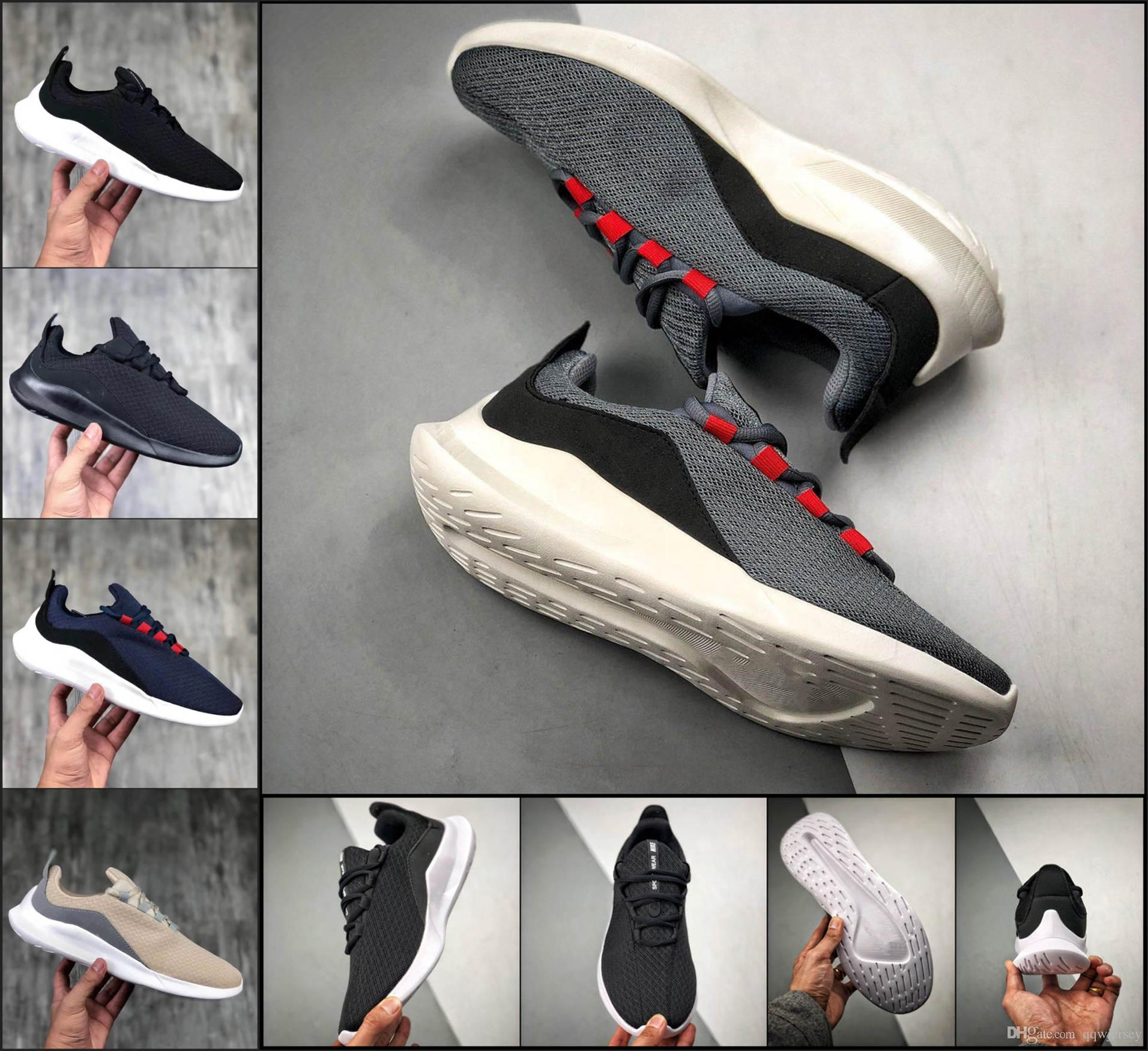 Mens Designer Ourdoors Walking Shoes Run Londons 2019 Women Soft Comfortable Black White Mesh Shoes Best Sports Sneakers Sportswear TM33181