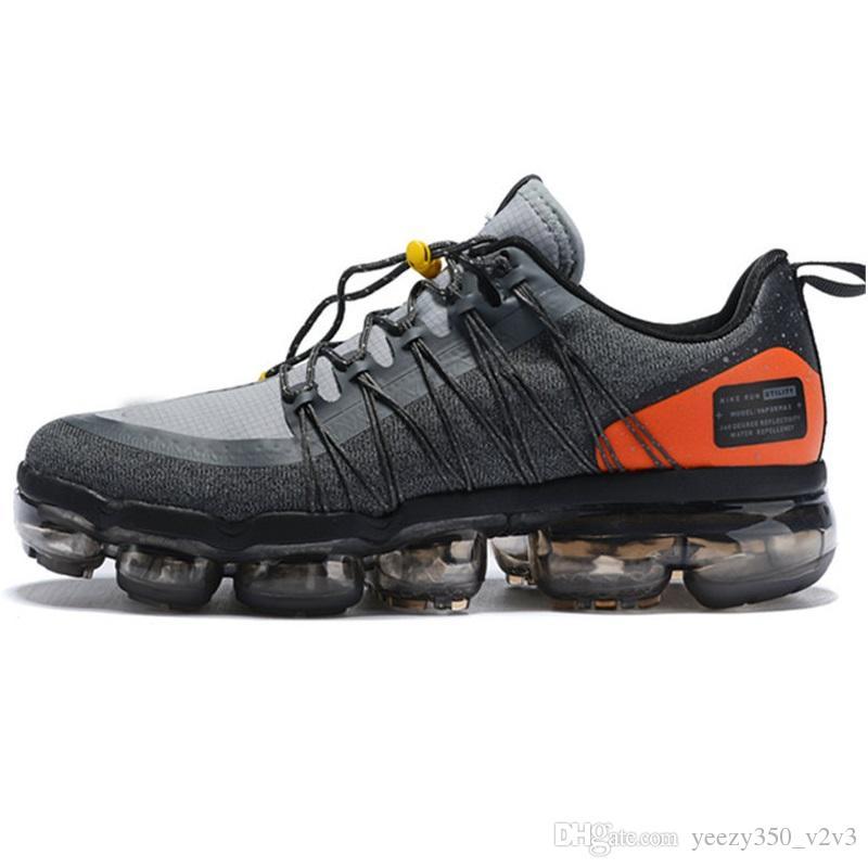 regarder 51979 d85b0 Nike air max vapormax 2019 untility Nouvelle Arrivée Hommes Chaussures de  Course Moyenne Olive Bordeaux Crush Hommes Baskets Mode Run UTILITY Sports  ...