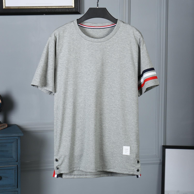 864d72da43d Home 2019 Summer New Mens Designer T Shirts Short Sleeve Cuff Red ...