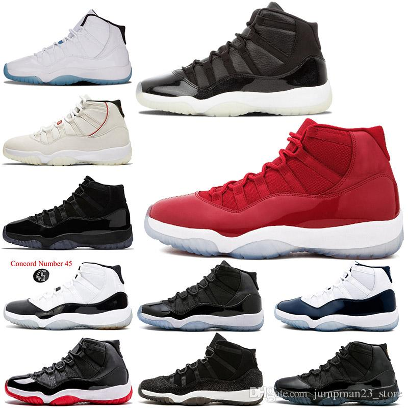 22ace7cd82a Prom Night 11s Womens Basketball Shoes for Men XI 11 Legend Blue ...