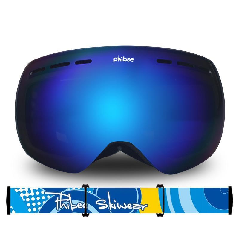 Compre Neve Do Inverno Esportes Snowboard Óculos De Esqui Camadas Duplas Anti  Fog Proteção UV Para Crianças Crianças Snowmobile Skiing Skating Mask De ... cfc9d20e95