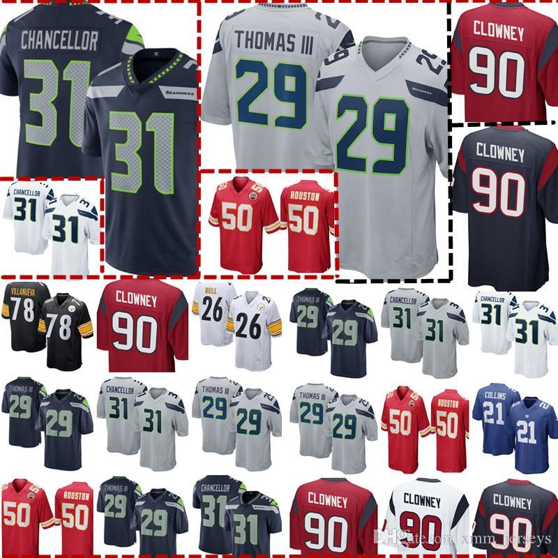 e6c477f8f46 Seattle Seahawks 31 Kam Chancellor 29 Earl Thomas Jersey Mens ...