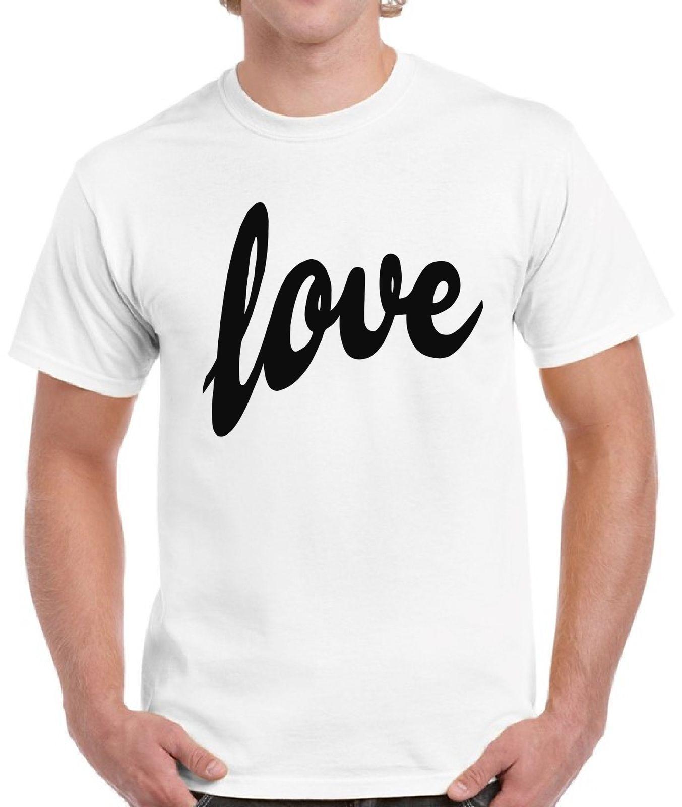 Compre Camiseta De Amor Estilo Día Del Día De San Valentín De Los Hombres  Camiseta Estilo Camisetas Camisetas Personalizadas Jersey Camiseta Con  Capucha Hip ... 48ca3f447810d