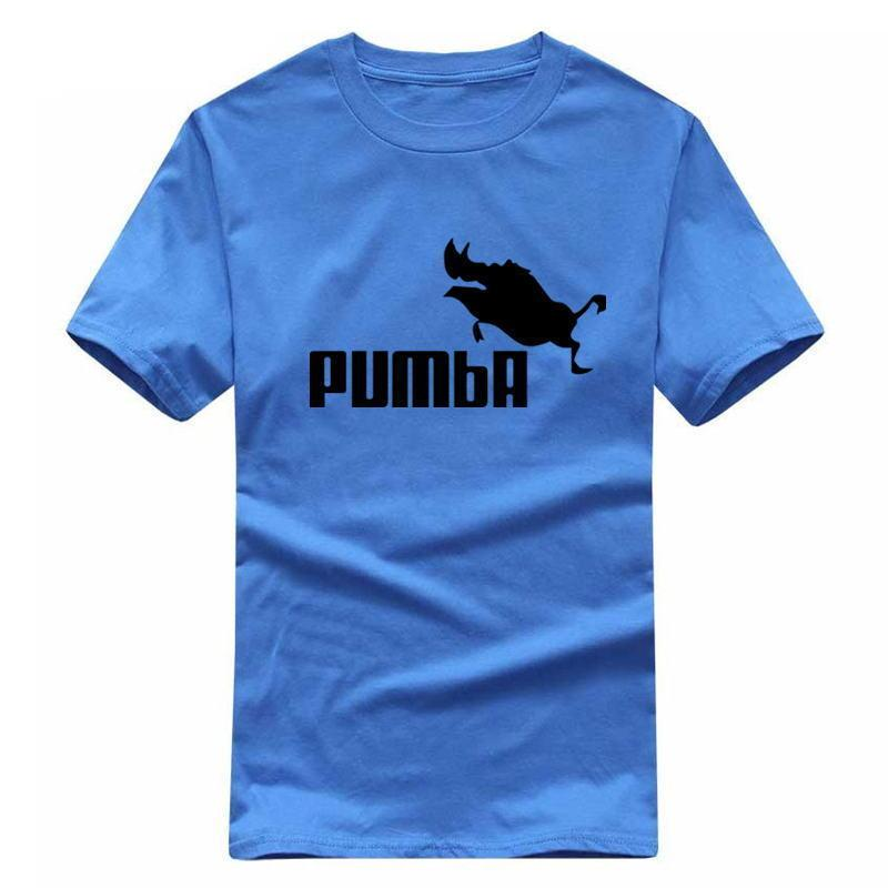 d83f965d8 2019 New Funny Tee Cute T Shirts Homme Pumba Men Women 100% Cotton Cool  Tshirt Lovely Cute Summer Jersey Costume T Shirt Shirts Print Funny T Shirt  Prints ...